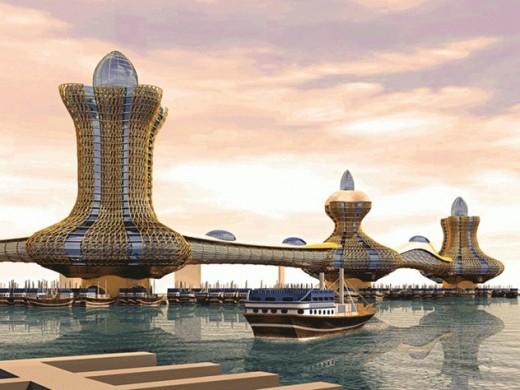 Градът на Аладин в Дубай скоро става реалност