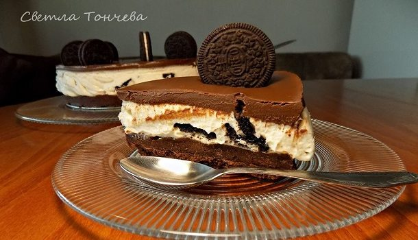 Шоколадов чийзкейк Орео
