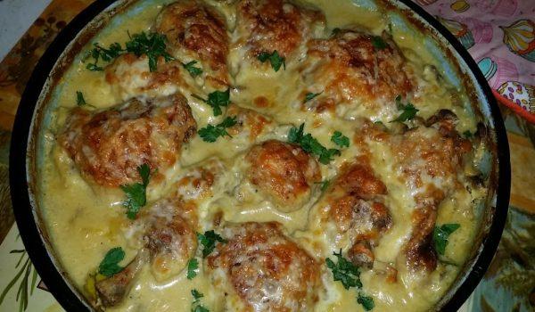 Пиле на фурна с уникален вкус
