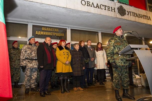 Военен ритуал и заря в памет на героите от Освобождението в Стара Загора