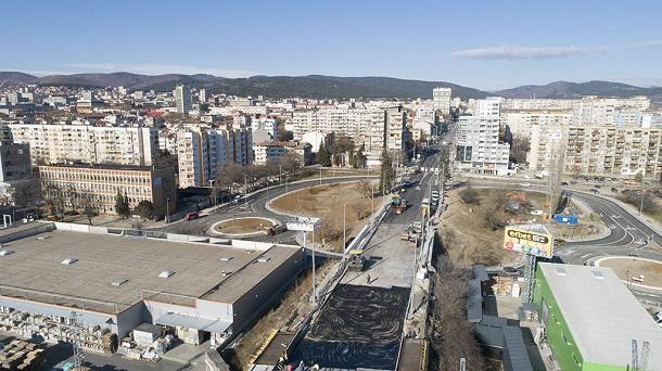 Откриват предсрочно моста в Стара Загора
